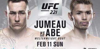 UFC 221 Luke Jumeau Daichi Abe