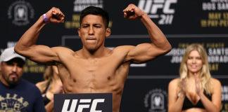 UFC 220 Enrique Barzola