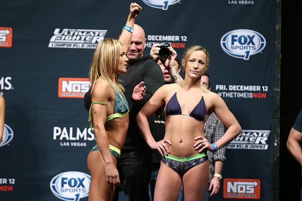 Felice Herrig Lisa Ellis UFC