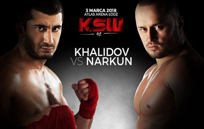KSW 42 Mamed Khalidov Tomasz Narkun