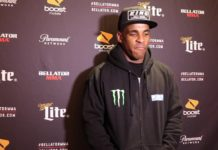 Lorenz Larkin, Bellator 193 post-fight