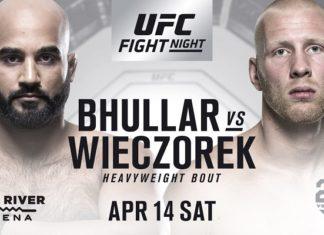 UFC: Arjan Bhullar to face Adam Wieczorek at UFC on FOX 29