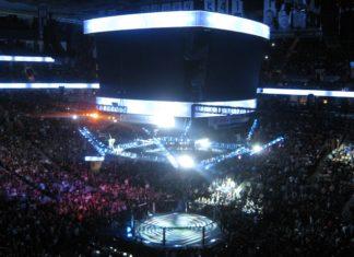 UFC Octagon Kai Kara-France Raulian Paiva UFC 234