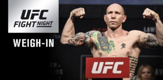 UFC on FOX 28 Josh Emmett weigh-in live stream