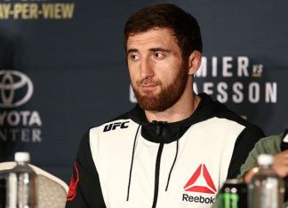 UFC's Ruslan Magomedov is in hot water with USADA