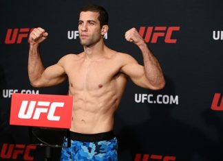 UFC's Augusto Mendes pulled from UFC Fight Night 128 due to USADA violation