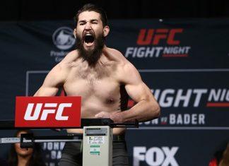 UFC welterweight Bryan Barberena returns at UFC Utica against Jake Ellenberger