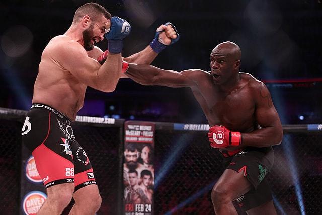 Cheick Kongo, Bellator MMA heavyweight
