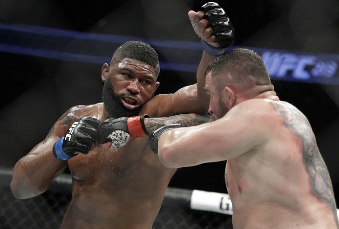 UFC heavyweight Curtis Blaydes