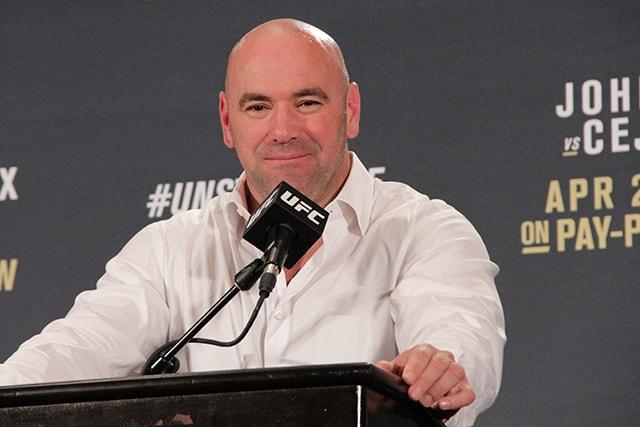 UFC President MMA Dana White Greg Hardy