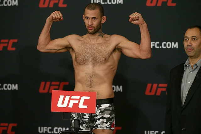 UFC Greenville Eric Spicely