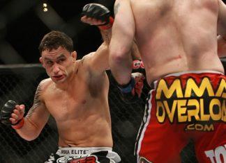 UFC Atlantic City Frankie Edgar Cub SWanson