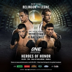 ONE Championship: Heroes of Honor