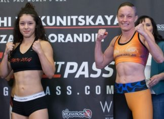 Invicta FC 28's Jillian DeCoursey