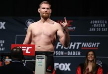 UFC Heavyweight Josh Barnett