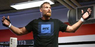 UFC heavyweight Josh Barnett