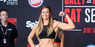 Women's flyweight Kaytlin Neil