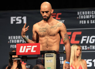 UFC welterweight Mike Jackson