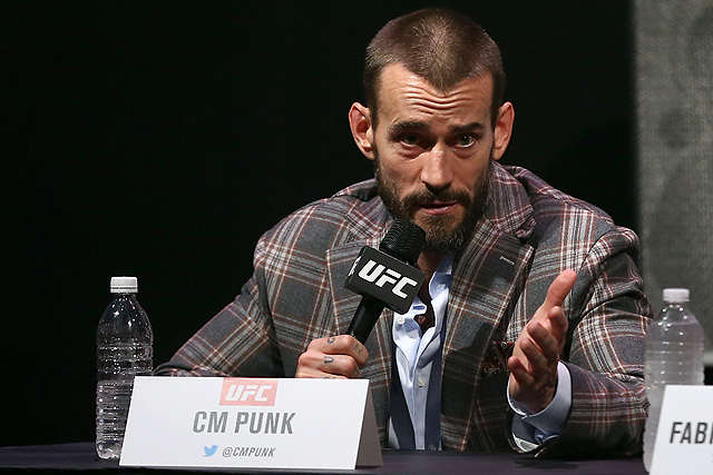 CM Punk Teases Return to the Octagon at UFC 225 in Chicago