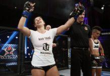 Mackenzie Dern was victorious in her UFC debut at UFC 222