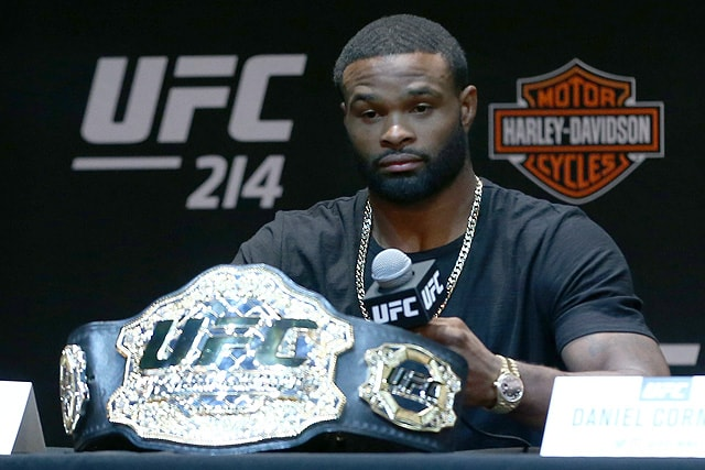 UFC welterweight champion Tyron Woodley