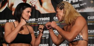 Carano Cyborg Strikeforce