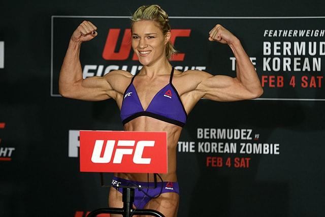 UFC 223 Felice Herrig Karolina Kowalkiewicz