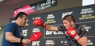 UFC 223 Khabib Nurmagomedov Max Holloway UFC 242