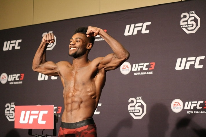 UFC Atlantic City Aljamain Sterling UFC 238