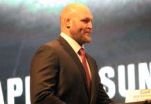 UFC heavyweight Ben Rothwell