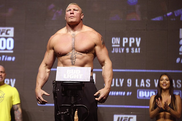 Brock Lesnar Is Now A Free Agent What Mma Fights Make Sense