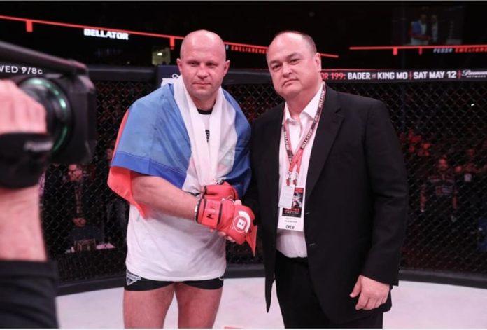 Fedor Emelianenko and Scott Coker