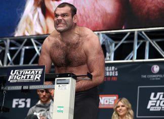 Former UFC heavyweight Gabriel Gonzaga