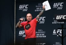 UFC commentator Joe Rogan