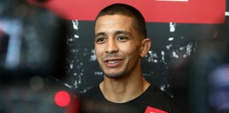 UFC flyweight John Moraga defeated Wilson Reis at UFC Glendale