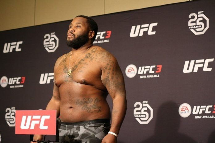 UFC Atlantic City Justin Willis