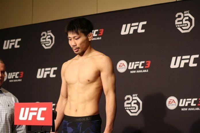 Keita Nakamura UFC