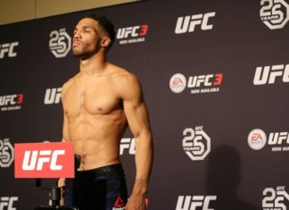 Kevin Lee, UFC Atlantic City