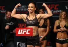 UFC strawweight Michelle Waterson
