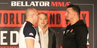 Bellator 198 Frank Mir and Fedor Emelianenko