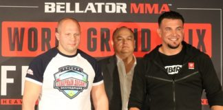 Bellator 198 Fedor Emelianenko and Frank Mir