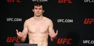 UFC lightweight, Canada's Olivier Aubin-Mercier