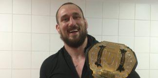 KSW heavyweight champion Phil de Fries