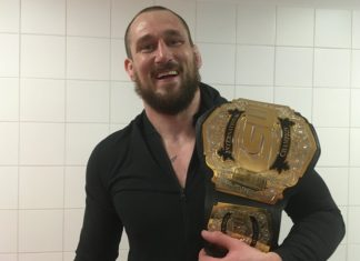 KSW heavyweight champion Phil de Fries