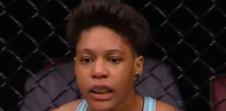 UFC women's flyweight Shana Dobson