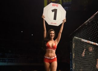 UFC octagon girl
