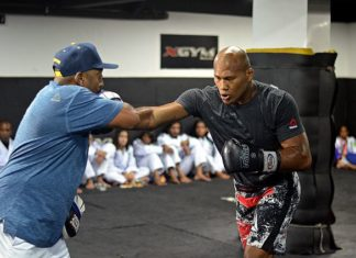 Jacare Souza Kelvin Gastelum UFC 224