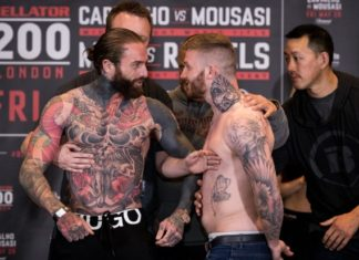 Aaron Chalmers, Ash Griffiths face off prior to Bellator 200