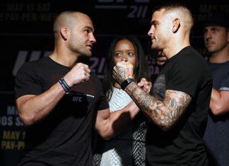 UFC lightweights Eddie Alvarez and Dustin Poirier