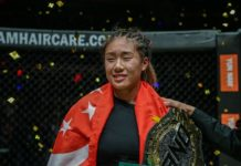 Angela Lee ONE Championship